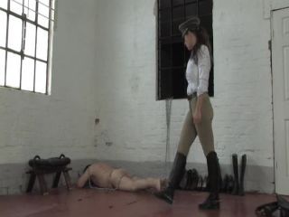The British Institution — Mistress Jo, Ashleigh Embers — Boot Room 2 - boot fetish - fetish porn gay fetish