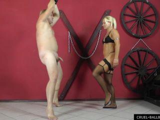 Extra painful ballkicks - cbt - fetish porn satin fetish porn
