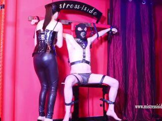 slave fetish bdsm porn   Extreme Bdsm – Mistress Iside – CRUCIFIXION OF COCK   ball abuse