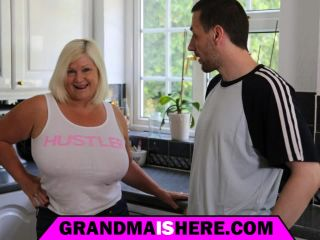 My grandmother wants to be fucked in all her holes