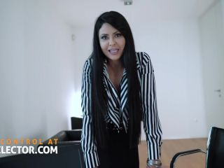 Secretary slut aches for your cock in her ass and sy