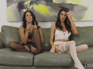 Silvia Saige & Reagan Foxx - Gorgeous MILFs Reagan Foxx And Silvia Saige LIVE!