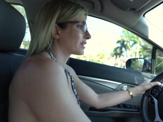 Cory Chase - Naked Car Ride and Hotel Blowjob