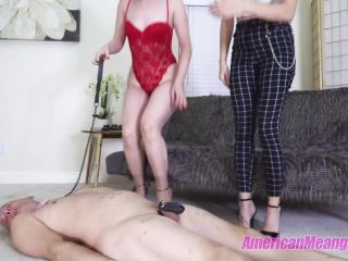 """SLAVES HEADS WERE MADE FOR STANDING ON"" (1080 HD) (FACESTANDING, HEAD TRAMPLING, STOMPING)"
