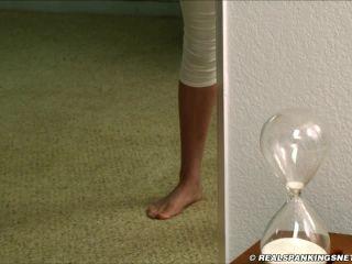 Syrena Spanked for Slacking in Gym