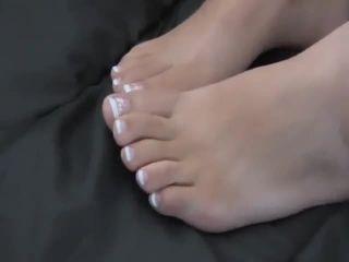 Cumshot foot Feet