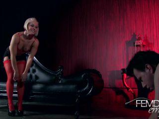 [Femdomempire] Humbling Foot Worship - December 11, 2012
