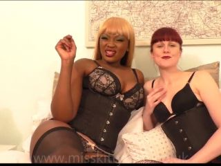 online porn clip 37 sexy black nylons Miss Kitty Bliss Ava Black Tick Tock Stroke That Cock, jerkoff instructions on femdom porn
