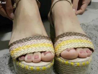 Footjob IG Model's Perfect Feet – Jhonn – Womens Feet!!!