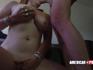 Big titty slut bella rossi falls for young buck astro