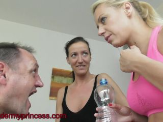 Porn online Under my princess - Burping and spitting with Christina femdom