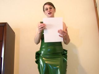 Lady Ashley - A Day of Humiliating Tasks!!!