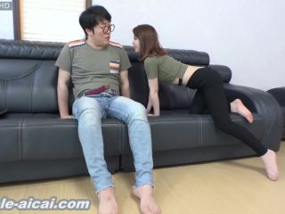 Korean girlfriend foot