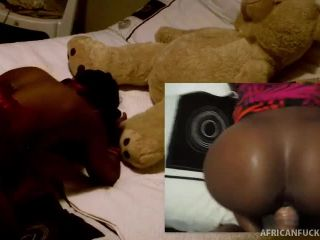 Antonio Loves To Fuck Moniques Black Pussy - African Casting