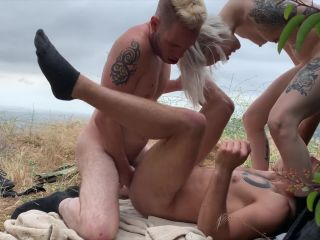 7249 Outdoor Bisexual MMF at Runyon Canyon with Sammy Knoxx Dante Co ...