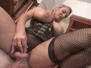 femdom heels milf | ClubDom presents Holly Halston in Chastity Gets Her Off | teasing