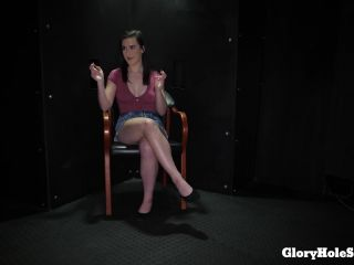 Blowjobs 9758- Lyra Lockhart - Lyra,s First Gloryhole Video -10 cumsho ...
