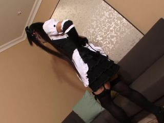 Online shemale video Horny Maid Kei Ready To Serve