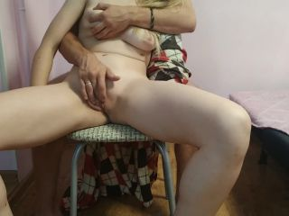 she reached orgasm and liked it / guy fingering pussy