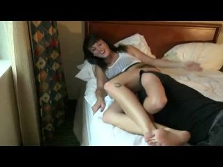 reality girls scissors  andi page  laughing as he sleeps: three knockouts!  reality girls scissors