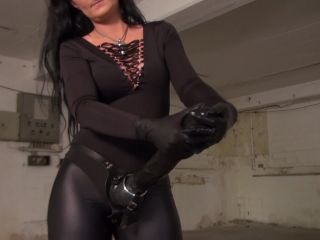 Kinky Mistresses - Luciana S Big Black Rubber Cock. Starring Lady Luci ...