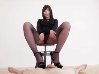 LegsJapan presents Shino Aoi Pantyhose Footjob   handjob   handjob porn female neck fetish