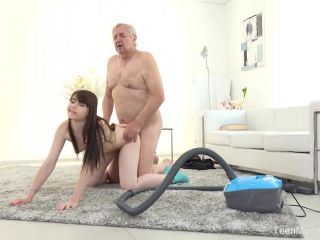 Kneel be... - working the old man over