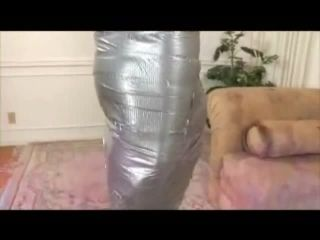 Samantha ryan gets mummy wrapped
