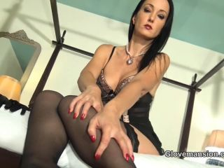 Glovemansion – Drain your balls on My satin gloves | financial domination | cumshot lesbian fetish porn