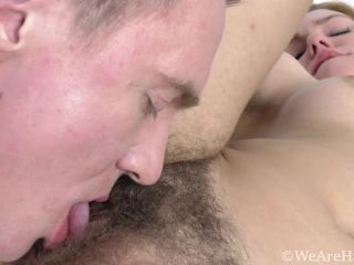 WeAreHairy: Candy Red - Candy Red enjoys hot sex with her man  - meaty lips - blowjob hardcore boobs