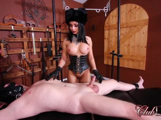 club dom  mistress crystal  anniversary cock hole fucking  ball abuse