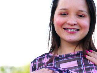 Rosie Riches - Lets Play Outside 2020, Braces, Brunette, Fair