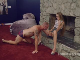 Femdom 2018 Female Worship Drink Up Slut Starring Goddess Kyaa Female Orgasms Pussy Eating Pussy Licking  Slave