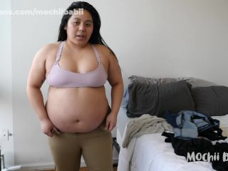 """Mochii Babii in """"Feedee Squeezes Into Tight Clothes  Mochii Babii""""  - ripped clothes - asian girl porn amateur big tits blowjob"""