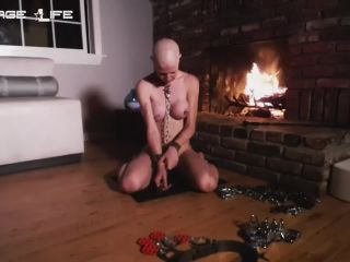 rachel Greyhound - Fireplace Fun With Greyhound (261.66 Mb,