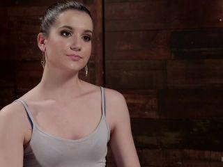 Hot 19 Year Old in Tormenting Bondage on brunette girls porn slob fetish