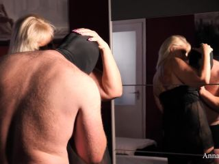 Chubby German blonde called up her fuck buddy for a night of fun