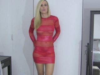 Bikini Blackmail Ballbust Lyne - Easily Ruined by Blackmail, nylon fetish on pov