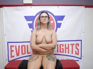 Evolved Fights – Red August on hardcore porn hentai girl video