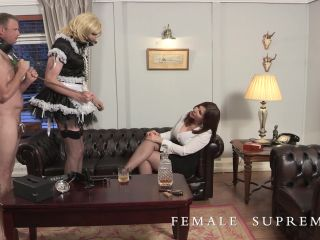 Female Supremacy – Baroness Essex – Grace and Flavour on femdom porn leg cast fetish porn