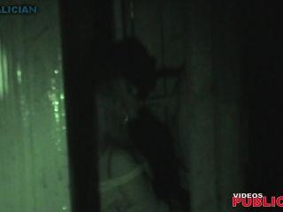 Night crawling fu10 Voyeur public