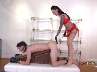Female Domination – VICIOUS FEMDOM EMPIRE – Filthy Cock Slut – Mistress Marley - anus - femdom porn muscle girl femdom