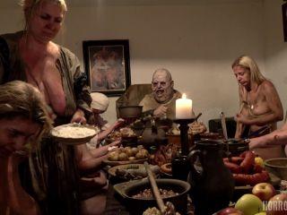 HorrorPorn: George Uhl, Nathaly Cherie, Angel Princess, Alexa Bold, Crystal Swift, Tommio Coal - Gluttony  - pregnant - blonde busty femdom
