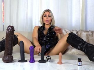 anal six DivineGoddessJessica: First Time Anal Play, butt plug on femdom porn
