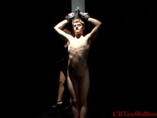 Cbtandballbusting interrogation hd