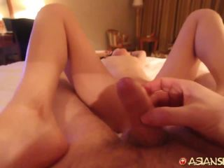 Asianmania 8813-Tiny Asian MILF Tsousin can barely fit his cock inside