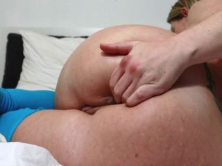 Helena Lana extremely huge ball anal penetration