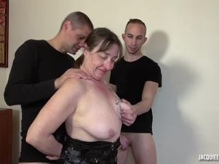 French Mature Wife Anal Gangbang