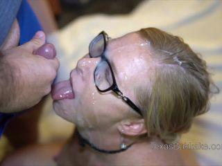 Bukkake, young sperm lover, cum on face