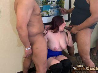 Mrsdarkcuckold - Mini Orgy